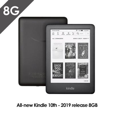 All-new Kindle Black version Now with a Built-in Front LightWi-Fi 8GB eBook e-ink screen 6-inch e-Book Readers