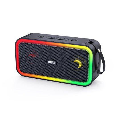 mifa F60 40W Output Power Bluetooth Speaker with Class D Amplifier Excellent Bass Performace Hifi speaker IPX7 waterproof himing rivals el34 aluminum tube amplifier hifi exquis headphone output bluetooth handmade scaffolding panel rhel34apb