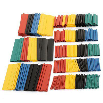 164/328 pcs Set  Heat Shrink Tube Assorted Insulation Shrinkable Wire Cable Sleeve Kit can Dropship