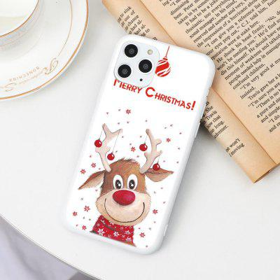 Cartoon Merry Christmas For iPhone 11 12 Pro Max Mini 7 8 6 6S Plus 5 5S Santa Claus XR X XS Phone Case TPU Cover