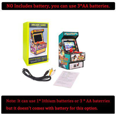 Mini Arcade Game 156 Classic Handheld Games Portable for Kids & Adults 2.8inch Eye-Protected Colorful Screen Rechargeable Battery