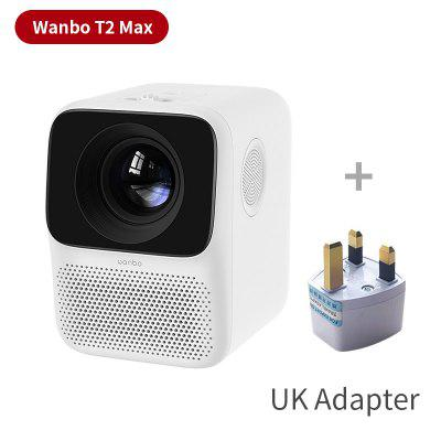 Фото - Global Version Wanbo T2 MAX LCD Projector LED Support 1080P Vertical keystone Correction Portable Mini Home Theater Projector original remote control for pioneer home theater amplifier axd7739
