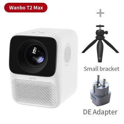 Global Version Wanbo T2 MAX LCD Projector LED Support 1080P Vertical keystone Correction Portable Mini Home Theater Projector