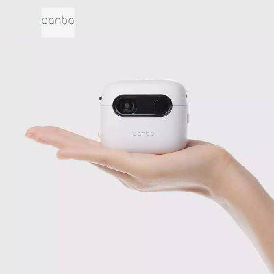 Фото - Wanbo Mini Smart Projector Q6A 2.4G+5G Wifi Bluetooth 4.0 Small DPL Projection TV 2GB+16GB Intelligent Pocket Projetcor jiqi digital intelligent bean sprouts machine thermostat green seeds growing automatic yogurt maker rice wine natto fermenter