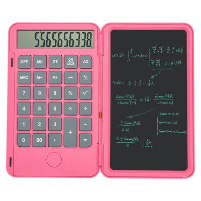 Aibevi 6.5 inch rechargeable Calculator Writing Tablet Portable Smart LCD Graphics Handwriting Pad Board drawing tablet paperless xiaomi mijia lcd writing tablet with pen digital drawing electronic handwriting pad graphics board