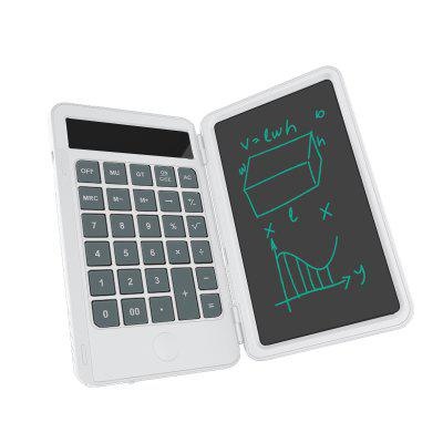 6 Inch Calculator USB LCD Writing Tablet Portable Rechargeable Drawing Board Office Handwriting Notebook  For School And Working xiaomi mijia lcd writing tablet with pen digital drawing electronic handwriting pad graphics board