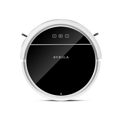 BVRILA BV-08S Ultra Thin Smart Robot Vacuum Cleaner 2200Pa Suction Automatic Charging Voice APP Remote Control Map Navigation