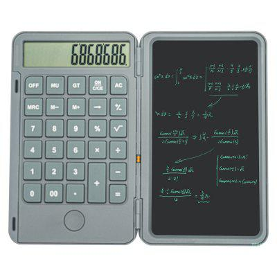 Aibevi 6.5 inch rechargeable Calculator Writing Tablet Portable Smart LCD Graphics Handwriting Pad Board drawing tablet paperless lcd writing tablet 8 5 inch digital drawing electronic handwriting pad graphics board kids writing board
