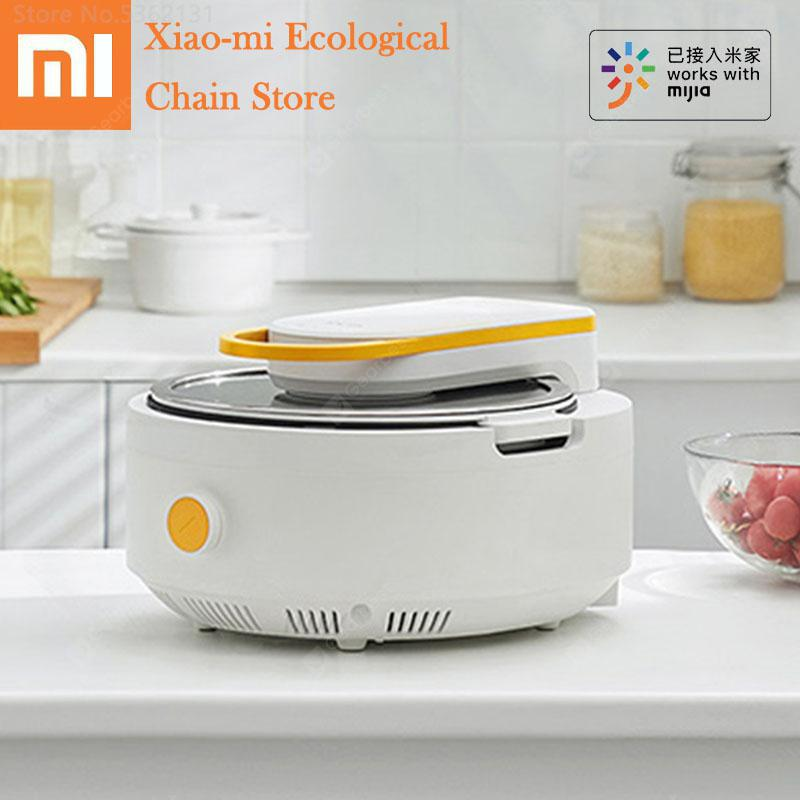 """""""Youpin Solista Electric Intelligent Automatic Stir Frying Machine Work With Mijia APP Non-stick Cooking Wok Pot Multi Cooker Pot"""" 3"""