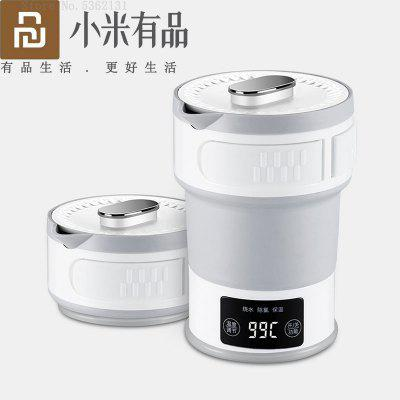 Youpin Electric Collapsible Travel Kettle Fast Boil Portable Water Boiler Food Grade Silicone Heated For Coffee Tea