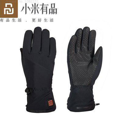 Youpin Graphene Heated Gloves Fingertip Touch Screen USB Electric Heating Warm Winter Windproof Motorcycle Racing Riding