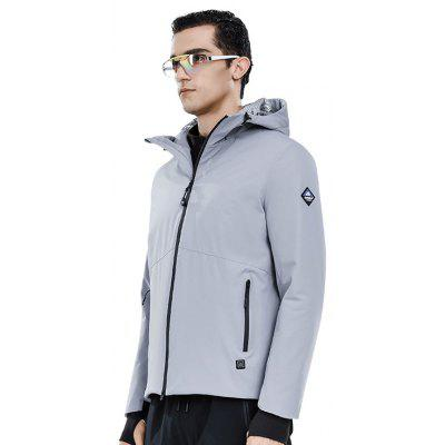 SUPIELD Aerogel Cold Suit Electric Heated Clothing Resistance Jacket Windproof Waterproof Men Clothes Anti-cold Coat