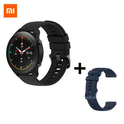 Xiaomi Mi Watch Blood Oxygen GPS SmartWatch Bluetooth Fitness Heart Rate Monitor 5ATM Waterproof Mi Smart Watch Global Version global version amazfit gts smart watch 14 days battery life huami gps sport watch heart rate 5atm waterproof smartwatch