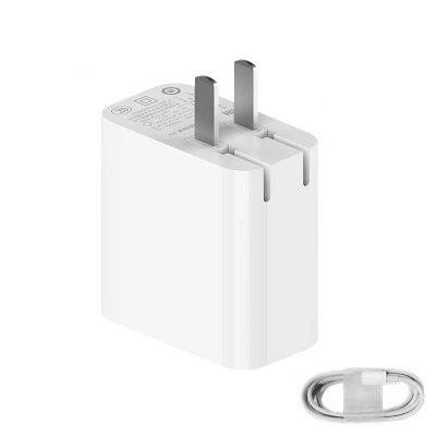 New Original Xiaomi Type-c Power Adapter 65w Charger Max Laptop Mobile Phone Game Equipment For Iphone 11 Apad Pro Switch