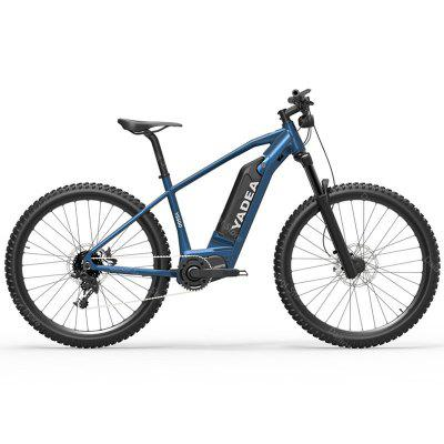 Yadea YS500 Electric Assist Bike Off-Road 2 Wheels Bicycles 27 Inch 36V 350W Bicycle For Adults EU