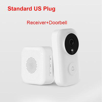 AI Touch Screen Bluetooth 5.0 Speaker Digital Display Alarm Clock WiFi Smart Connection With Video Doorbell Mi