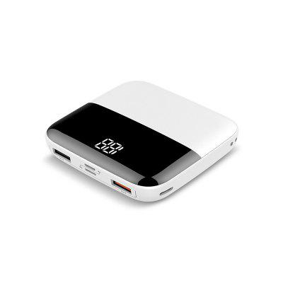 Vogek Mini Power Bank 10000mAh LED Display External Portable Type C Charger PoverBank Double USB for iPhone Huawei Samsung