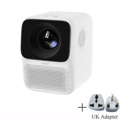 Фото - Xiaomi Wanbo T2 Free LCD Projector LED Support 1080P Vertical Keystone Correction Portable Mini Home Theater Projecteur сегвей xiaomi ninebot mini pro белый