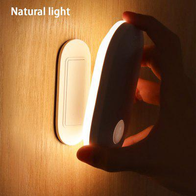 Baseus Induction Night Lamp PIR Motion Sensor Light Human Body Magnetic Led Rechargeable Indoor Wall