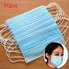 50PCS Medical Disposable Face Masks 3 Ply Breathable Comfortable Filter Safety Mask