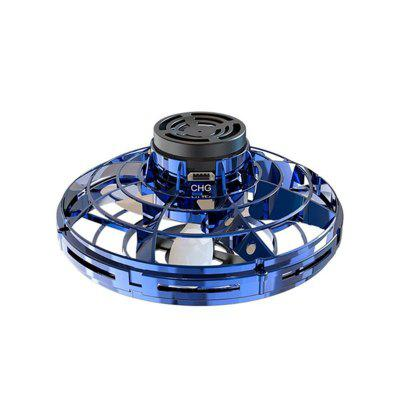 Flynova Mini Drone LED Flying Helicopter spinner Fingertip Gyro Drone Aircraft Toy Adult Kids Gift