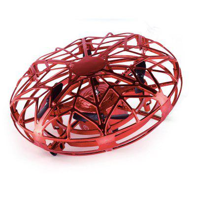 Mini Helicopter UFO RC Drone Infraed Hand Sensing Aircraft Electronic Quadcopter Toys For Children