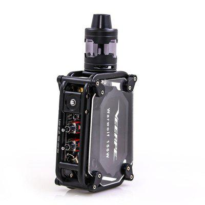 VEEAPE Warwolf 150w Vape Kit built-in 3500mAh battery Laser vape box mod Instant 0.025 second