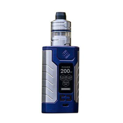 WISMEC SINUOUS FJ200 Max 200W TC Kit Built in 4600mAh Battery with 2ml 4ml Divider Atomizer