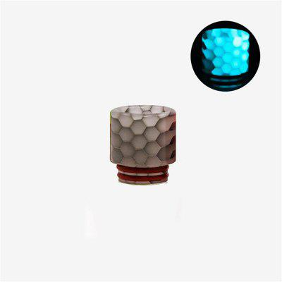 VEEAPE 810 Drip Tip Wide Bore Resin Drip Tips Mouthpiece Luminous Cobra For Vape Tank RDA RTA