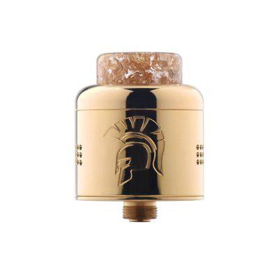 Wotofo Warrior RDA Tank 25mm Top Fill Two Post Build Deck Beehive Style Air Holes Atomizer Vape Tank