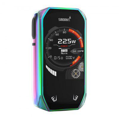 Smoant Naboo 225W TC Box MOD 2.4 Inch Screen Music Mode DIY Wallpaper Ant225 chipset E-Cig Mod