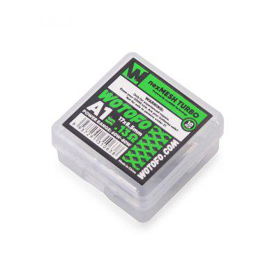 Wotofo Replacement Coil nexMESH EXTREME A1 0.16ohm CHILL A1 0.15ohm TURBO A1 0.13ohm