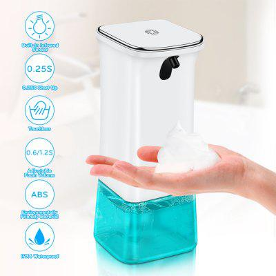 Automatic Foaming Soap Dispenser Transparent Soap Liquid Container Hand Foam Liquid Soap Dispenser