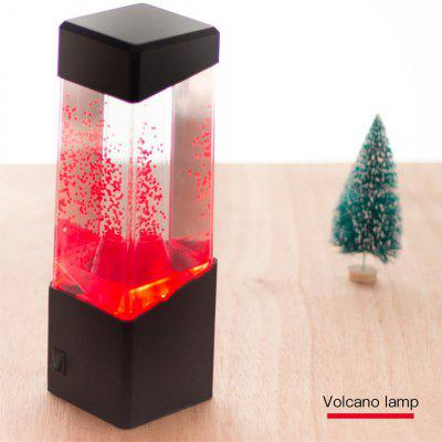 Colorful LED Jellyfish Night Light Electric Tank Table Lamp Color Changing Light Gift for Kids Men