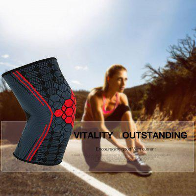 Sports Knee Pads Nylon Jacquard Knitted Fitness Running Basketball Badminton Knee Pads