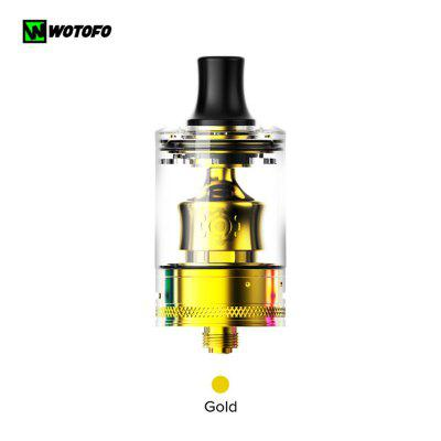 Wotofo COG MTL RTA Vape Tank 22mm 3ml Airflow Control Fast Clamp Coil Atomizer for 510 Thread Mod