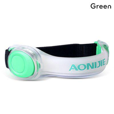 LED Safety Light Sleeve Bracelet Wrist Band for Sports Running Glow Running Arm Band