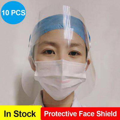 Protective Face Shield Anti-Saliva Mask Anti-Fog Dust-Proof Protective Mask Cover For Kids Adults