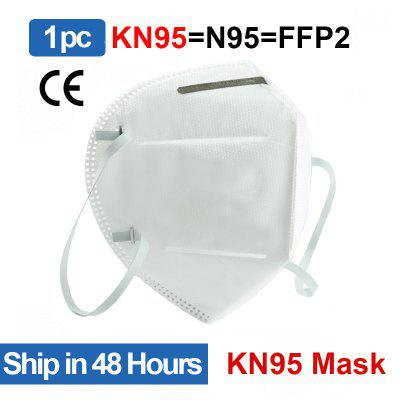 10pcs KN95 Protective Mask Anti Virus N95 FFP2 Dust-proof Disposable Mask