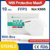N95 Protective Mask FFP3 Anti-flu Respirator anti fog dust-proof Breathable Disposable Face Mask