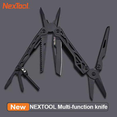 NEXTOOL Multi-function knife 10 IN 1 Portable Folding Knife Stainless Steel Opener Screwdriver knife