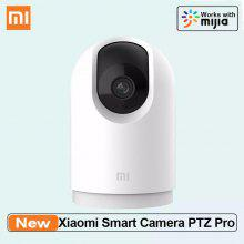 Xiaomi Smart Camera PTZ Pro 360 Panoramic 2K HD Med Bluetooth Gateway AI-övervakningskamera