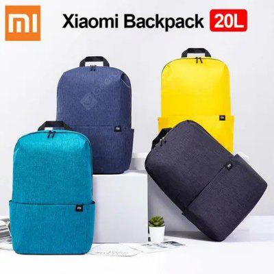 Xiaomi Mi Backpack 20L Grande Capacidade 15.6inch Laptop Bag Urban Leisure Colorful Sports Chest Backpack