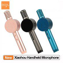 Xiaohou Wireless Microphone Handheld Karaoke Bluetooth Fashion Multi-Scenario Use Speaker with Mic