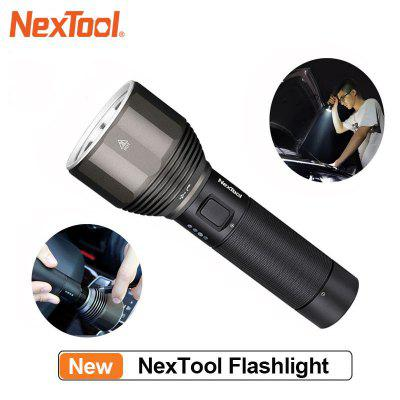 NexTool Rechargeable Flashlight 2000lm 380m 5 Modes IPX7 Waterproof LED light Type-C Charging