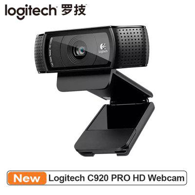Logitech C920 PRO HD Webcam 1080P Widescreen Video Calling and Recording Web Camera for Computer
