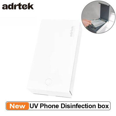 Adrtek UV Ozone Phone Disinfection Box Efficient Disinfection USB Charging Multifunctional Sterilization Box