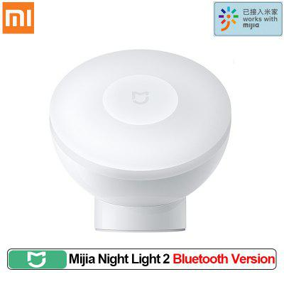 XIAOMI Mijia Night Light 2 Bluetooth Version Adjustable Brightness Infrared Smart Human Body & light Sensor Work With mijia app