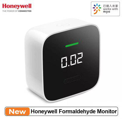 Honeywell Formaldehyde Monitor HCHO OLED Temperature Humidity Sensor Gas Detector Work for Mi Home App