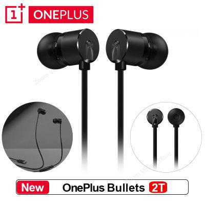 Original OnePlus Bullets 2T Earphones Type-C In-Ear Headset With Remote Mic for Oneplus 7 pro/6T Mobile Phone